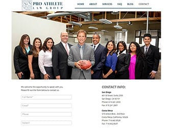 Pro Athlete Law Group