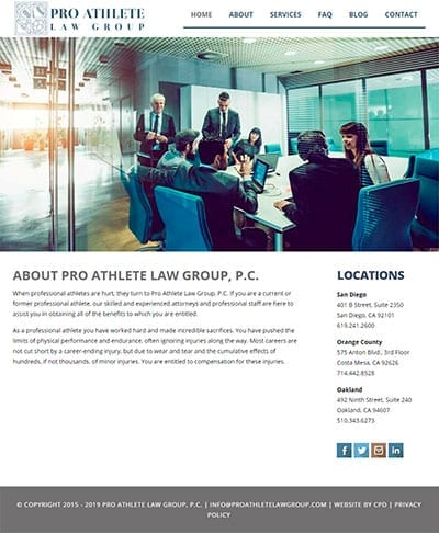 proathlete law sample